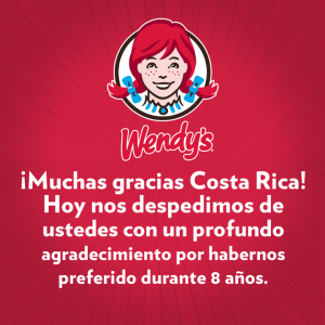 Wendy's offered this upbeat message, but many at local memorials reported that it just made things more difficult.