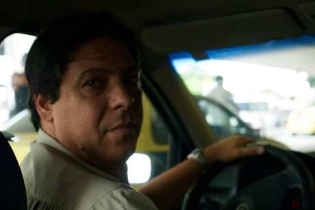 Taxi driver in Rio de Janeiro